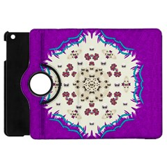 Eyes Looking For The Finest In Life As Calm Love Apple Ipad Mini Flip 360 Case by pepitasart