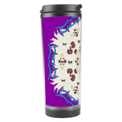 Eyes Looking For The Finest In Life As Calm Love Travel Tumbler by pepitasart