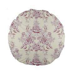 French Chic Standard 15  Premium Round Cushions by 8fugoso