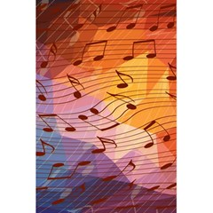 Music Notes 5 5  X 8 5  Notebooks by linceazul