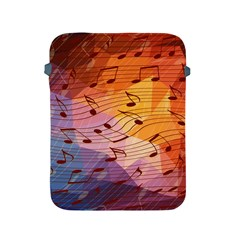 Music Notes Apple Ipad 2/3/4 Protective Soft Cases by linceazul