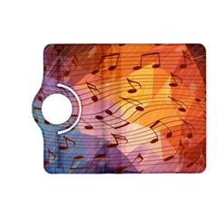 Music Notes Kindle Fire Hd (2013) Flip 360 Case by linceazul