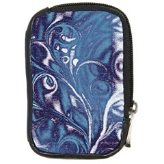 Mystic Blue Flower Compact Camera Cases by Cveti