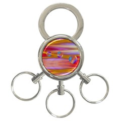 Space World Pattern 3 Ring Key Chains by Cveti
