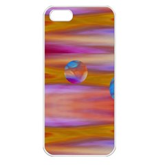 Space World Pattern Apple Iphone 5 Seamless Case (white) by Cveti