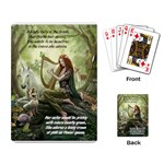Fairy playing cards - Playing Cards Single Design