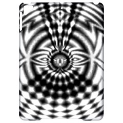 Ornaments Pattern Black White Apple Ipad Pro 9 7   Hardshell Case by Cveti