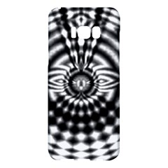 Ornaments Pattern Black White Samsung Galaxy S8 Plus Hardshell Case  by Cveti