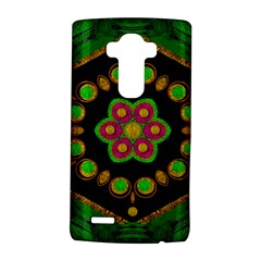 Magic Of Life A Orchid Mandala So Bright Lg G4 Hardshell Case by pepitasart