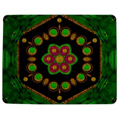 Magic Of Life A Orchid Mandala So Bright Jigsaw Puzzle Photo Stand (rectangular) by pepitasart