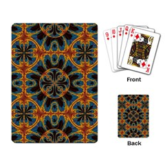 Tapestry Pattern Playing Card by linceazul