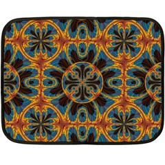 Tapestry Pattern Fleece Blanket (mini) by linceazul