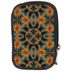 Tapestry Pattern Compact Camera Cases by linceazul