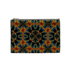 Tapestry Pattern Cosmetic Bag (medium)  by linceazul