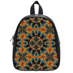 Tapestry Pattern School Bag (small) by linceazul