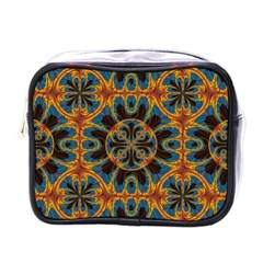 Tapestry Pattern Mini Toiletries Bags by linceazul