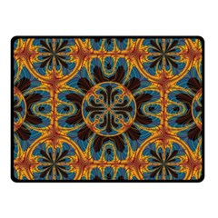 Tapestry Pattern Fleece Blanket (small) by linceazul