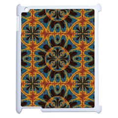 Tapestry Pattern Apple Ipad 2 Case (white) by linceazul