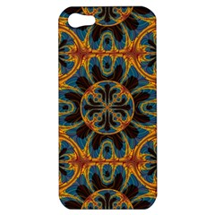 Tapestry Pattern Apple Iphone 5 Hardshell Case by linceazul