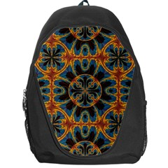 Tapestry Pattern Backpack Bag by linceazul