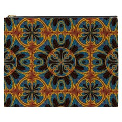 Tapestry Pattern Cosmetic Bag (xxxl)  by linceazul