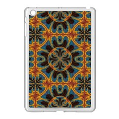 Tapestry Pattern Apple Ipad Mini Case (white) by linceazul