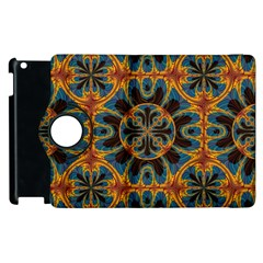 Tapestry Pattern Apple Ipad 3/4 Flip 360 Case by linceazul
