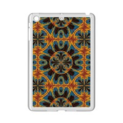 Tapestry Pattern Ipad Mini 2 Enamel Coated Cases by linceazul