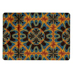Tapestry Pattern Samsung Galaxy Tab 10 1  P7500 Flip Case by linceazul