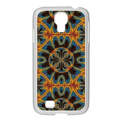 Tapestry Pattern Samsung Galaxy S4 I9500/ I9505 Case (white) by linceazul