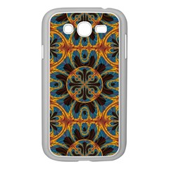 Tapestry Pattern Samsung Galaxy Grand Duos I9082 Case (white) by linceazul