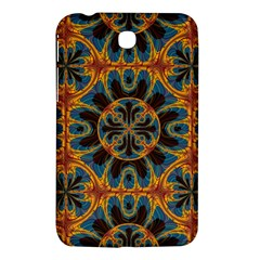 Tapestry Pattern Samsung Galaxy Tab 3 (7 ) P3200 Hardshell Case  by linceazul