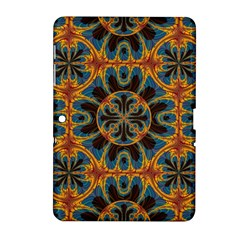Tapestry Pattern Samsung Galaxy Tab 2 (10 1 ) P5100 Hardshell Case  by linceazul