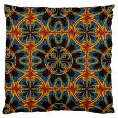 Tapestry Pattern Standard Flano Cushion Case (one Side) by linceazul