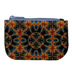 Tapestry Pattern Large Coin Purse by linceazul