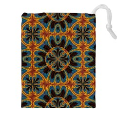 Tapestry Pattern Drawstring Pouches (xxl) by linceazul