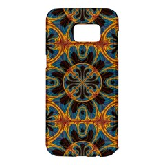 Tapestry Pattern Samsung Galaxy S7 Edge Hardshell Case by linceazul