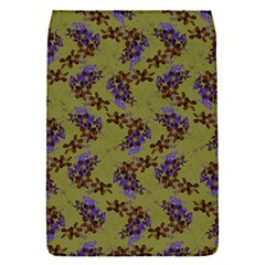 Green Purple And Orange Pear Blossoms  Flap Covers (s)  by ssmccurdydesigns