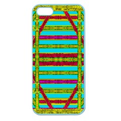 Gift Wrappers For Body And Soul Apple Seamless Iphone 5 Case (color) by pepitasart