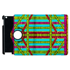 Gift Wrappers For Body And Soul Apple Ipad 3/4 Flip 360 Case by pepitasart