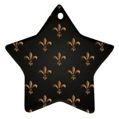 Fleur De Lis Ornament (star) by 8fugoso