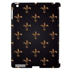 Fleur De Lis Apple Ipad 3/4 Hardshell Case (compatible With Smart Cover) by 8fugoso
