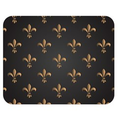 Fleur De Lis Double Sided Flano Blanket (medium)  by 8fugoso