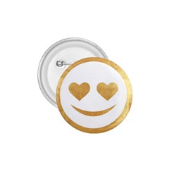 Gold Smiley Face 1 75  Buttons by 8fugoso