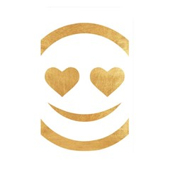 Gold Smiley Face Memory Card Reader by 8fugoso