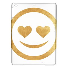 Gold Smiley Face Ipad Air Hardshell Cases by 8fugoso