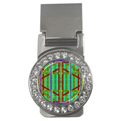 Gift Wrappers For Body And Soul In  A Rainbow Mind Money Clips (cz)  by pepitasart