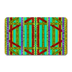 Gift Wrappers For Body And Soul In  A Rainbow Mind Magnet (rectangular) by pepitasart