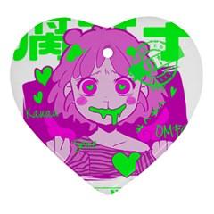 Fujoshi Ornament (heart) by psychodeliciashop