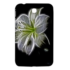 White Lily Flower Nature Beauty Samsung Galaxy Tab 3 (7 ) P3200 Hardshell Case  by Celenk